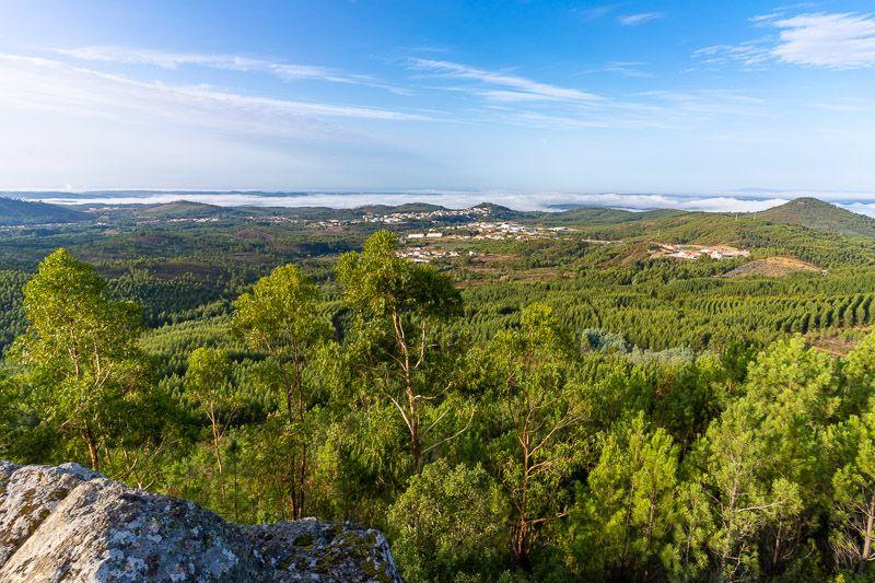 Etapa 3 de la ruta por la N2 entre Serta y Ferreira do Alentejo: Centro Geodésico de Portugal