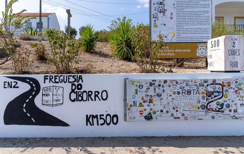 Etapa 4 de la ruta por la N2 entre Serta y Ferreira do Alentejo: Ciborro