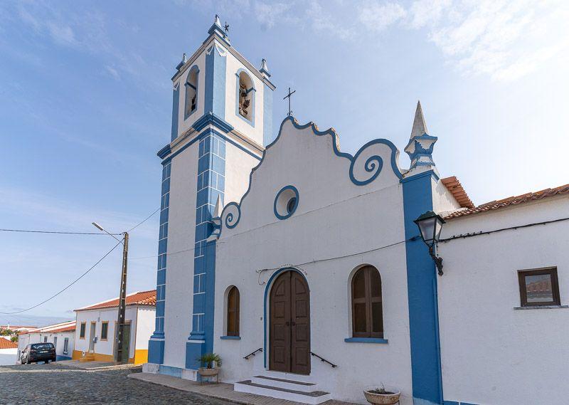 Etapa 5 de la ruta por la N2 entre Ferreira do Alentejo y Faro: Ervidel