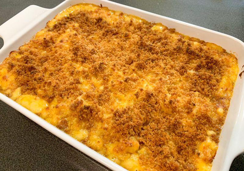 Receta de Mac and Cheese: este es el resultado final