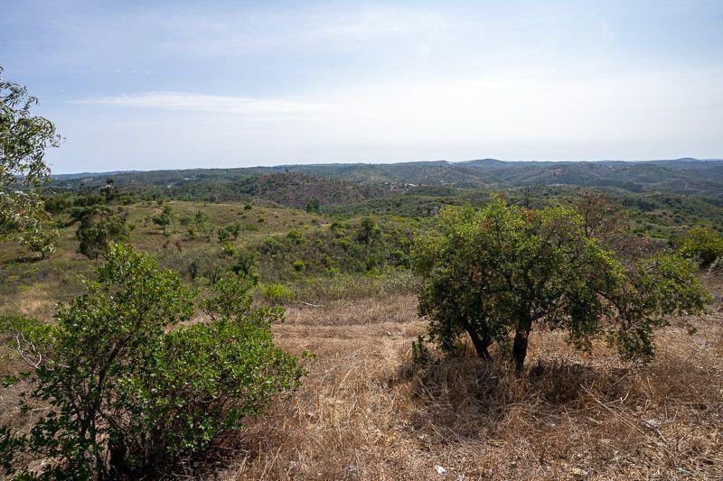 Etapa 5 de la ruta por la N2 entre Ferreira do Alentejo y Faro: Miradouro do Caldeirao