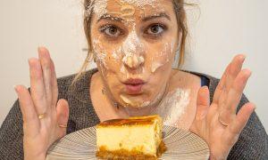 Receta de tarta de queso al horno o NY Cheesecake