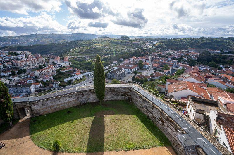 Qué ver en Lamego: castelo de Lamego