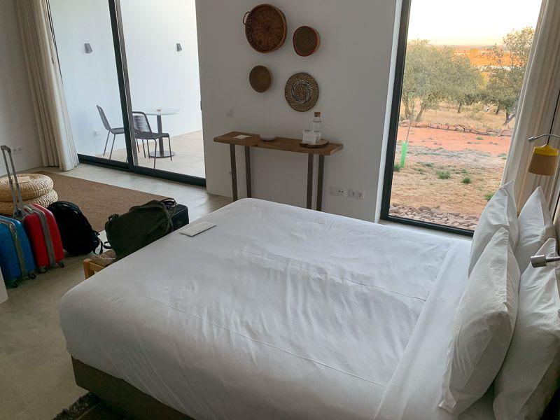 Dónde dormir en el lago Alqueva: hotel Montimerso