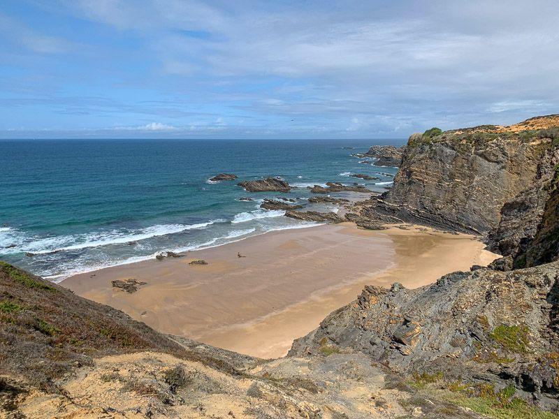 Qué ver y hacer en la Costa Vicentina: Praia da Pedra da Bica