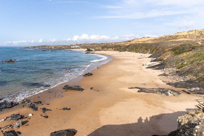Qué ver y hacer en la Costa Vicentina: Praia de Almograve