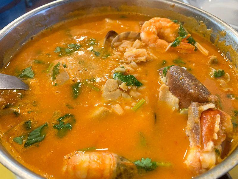Dónde comer en el lago Alqueva: restaurante Aloendro
