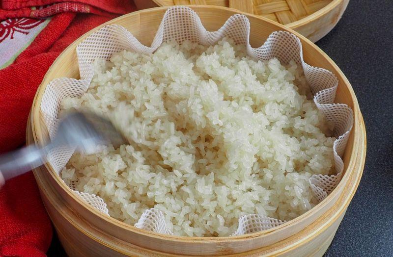 Receta de mango sticky rice casero, fácil y rápido