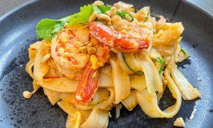 Receta de pad thai tailandés casero, rápido y fácil