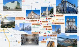 Mapa de Oporto [QUÉ VER + PUNTOS DE INTERÉS]