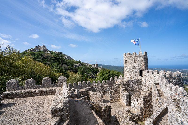 Imprescindibles en Sintra: Castelo dos Mouros