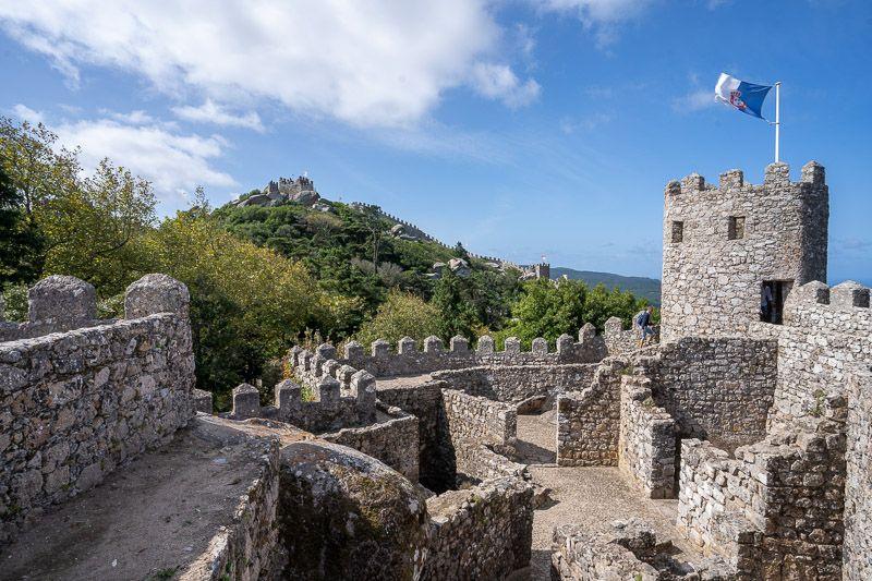 Qué ver en Sintra: Castelo dos Mouros