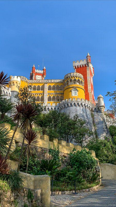 Imprescindibles en Sintra: Palacio da Pena
