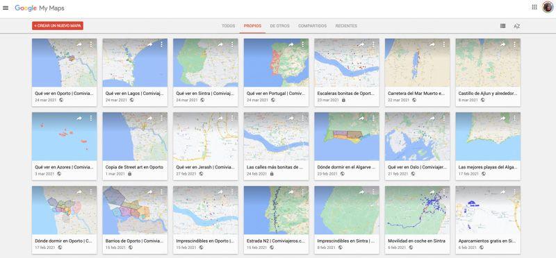 Crear mapas con Google My Maps: primeros pasos