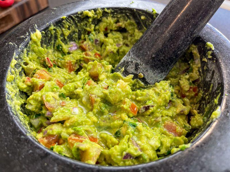 Receta de guacamole casero: este es el resultado final