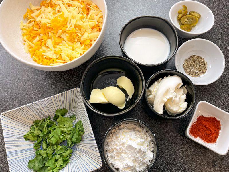 Receta de salsa de queso para nachos casera: ingredientes