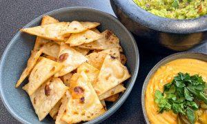 Receta de nachos caseros y fáciles (auténtica receta mexicana)