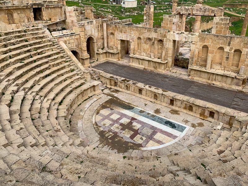 Visitar Jerash: Teatro Norte