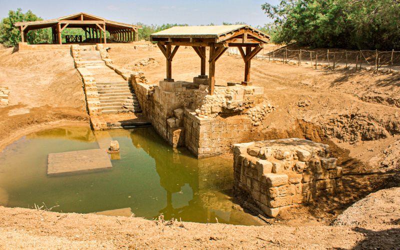 Qué ver y hacer en la carretera del Mar Muerto: visitar el lugar de bautismo de Jesús