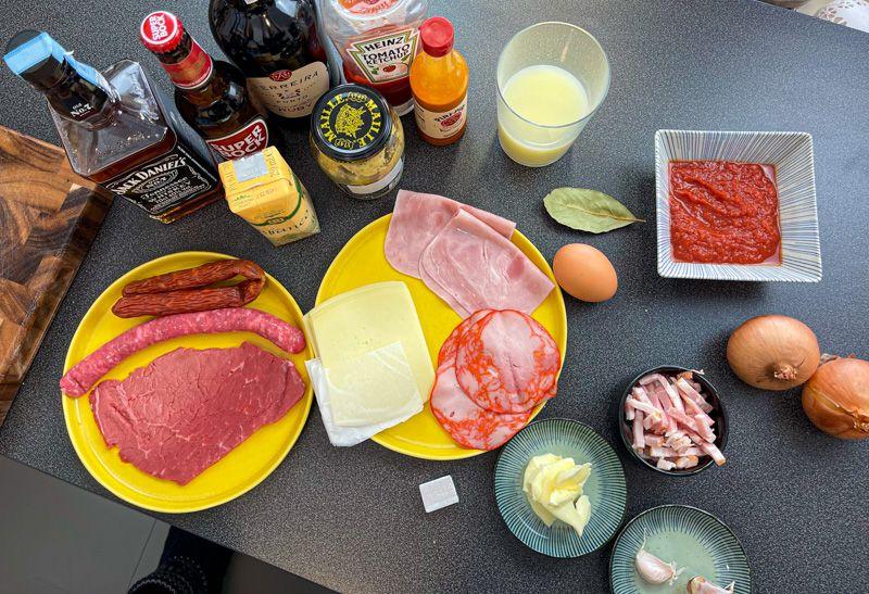 Receta de francesinha: ingredientes para la salsa