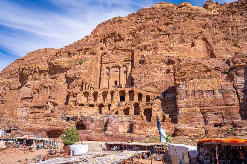 Qué ver en Petra: Tumbas Reales