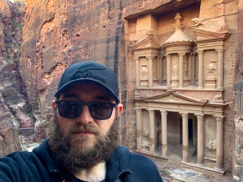 Qué ver en Petra: mirador del Tesoro