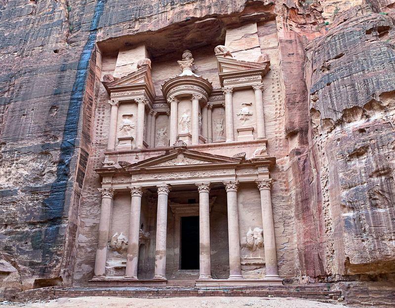Qué ver en Petra: el Tesoro