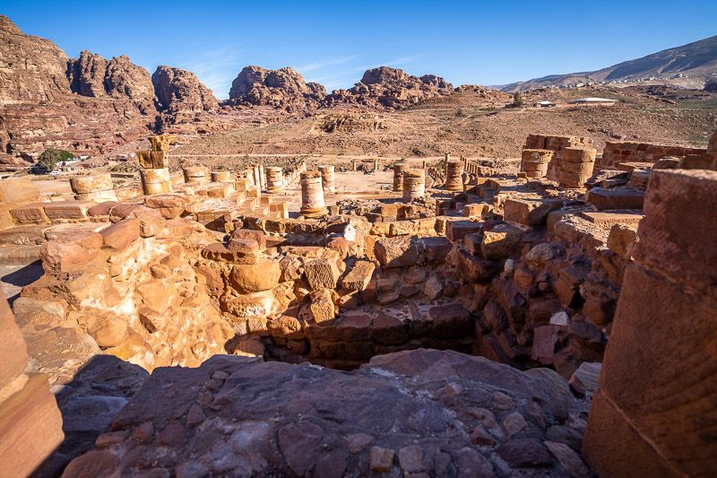 Qué ver en Petra: Gran Templo