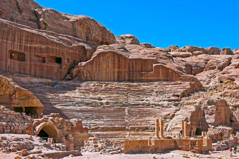 Qué ver en Petra: el Teatro