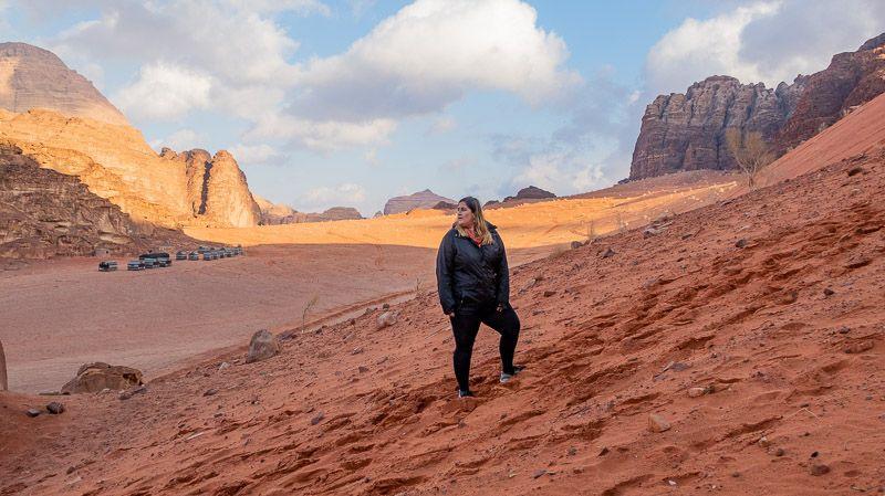 Visitar el desierto de Wadi Rum en Jordania