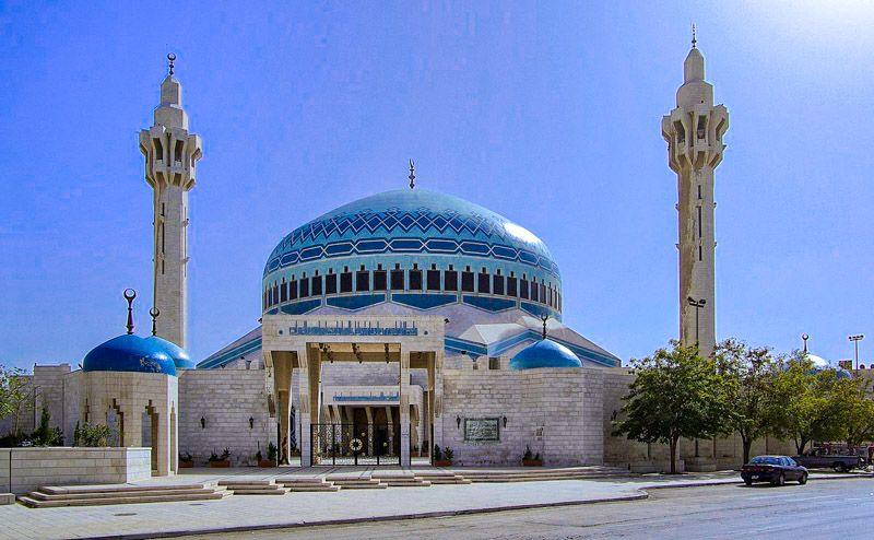 Qué ver en Ammán: mezquita del Rey Abdalá