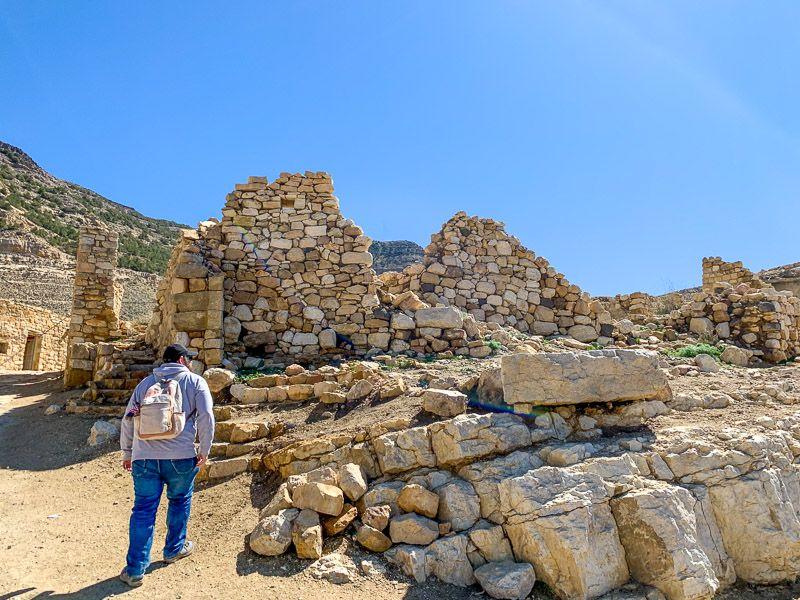 Carretera del Rey en Jordania: Dana