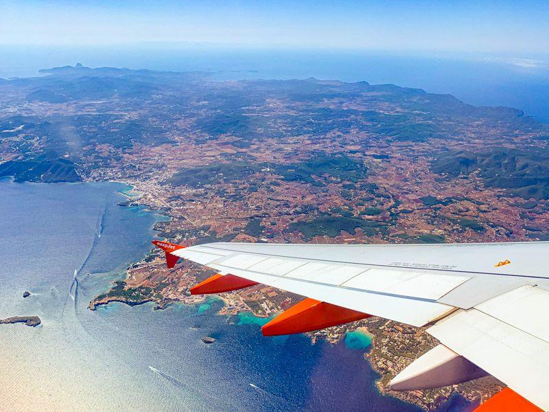 Cuánto cuesta un viaje a Ibiza: los vuelos