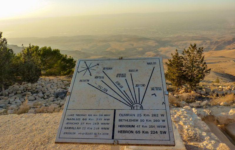 Qué ver en Madaba: Monte Nebo