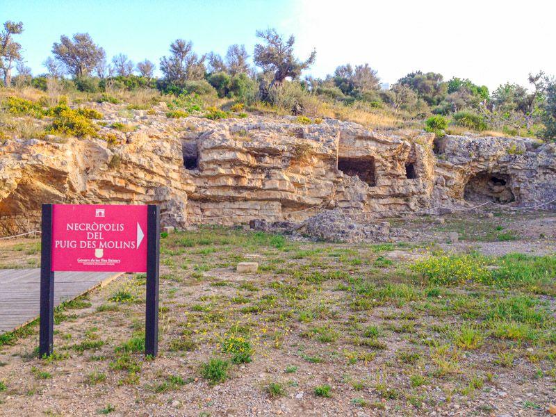 Qué ver en Ibiza ciudad: Necrópolis de Puig de Molins