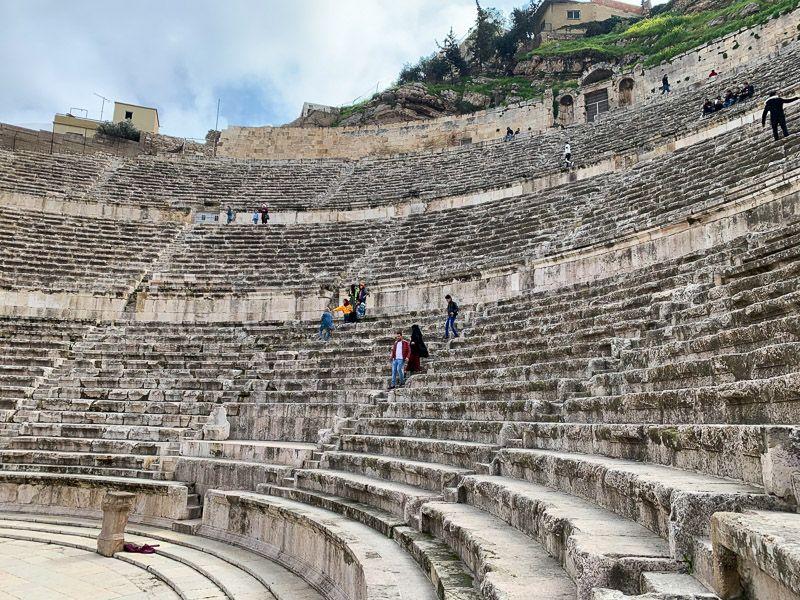 Qué ver en Ammán: Teatro Romano