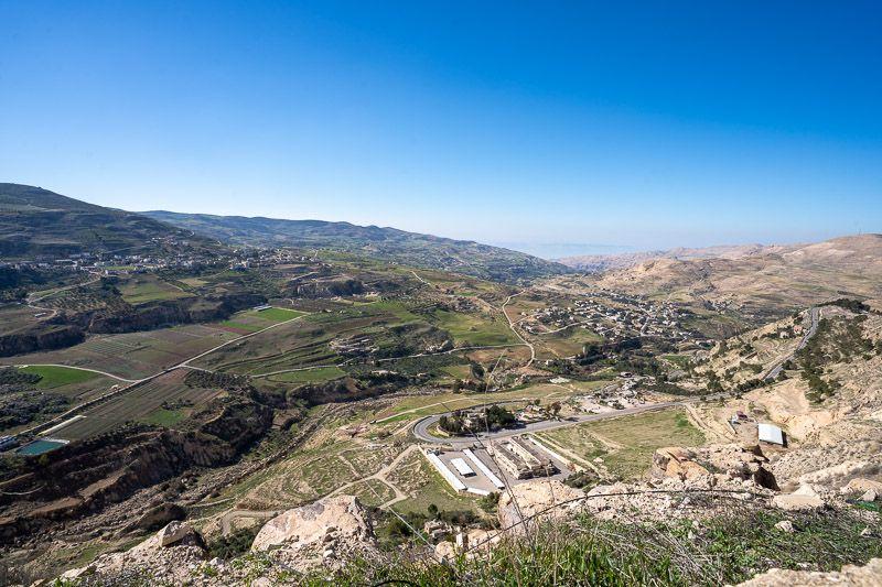 Carretera del Rey en Jordania