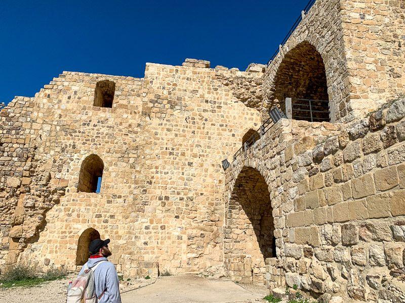 Carretera del Rey en Jordania: castillo de Karak