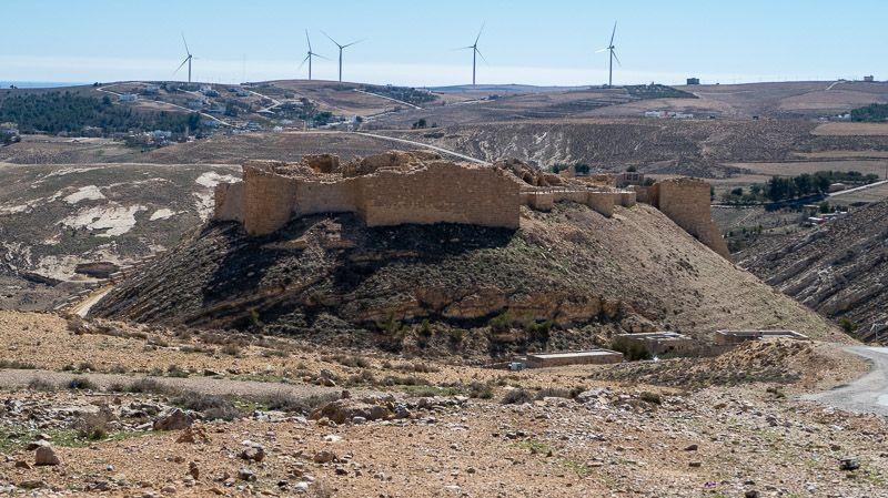 Carretera del Rey en Jordania: castillo de Shobak