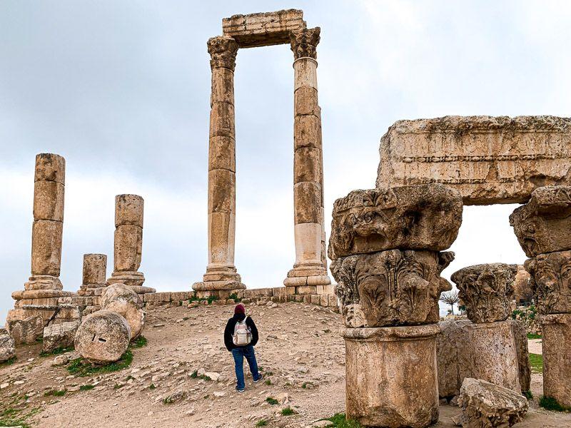 Qué ver en Ammán: ciudadela de Ammán
