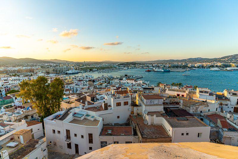 Qué ver en Ibiza ciudad: vistas desde Dalt Vila