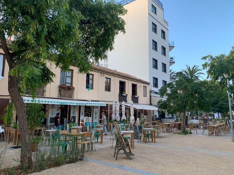 Qué ver en Ibiza ciudad: plaça del Parc