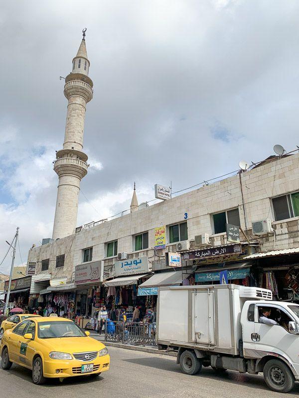 Qué ver en Ammán: mezquita Al-Hussein