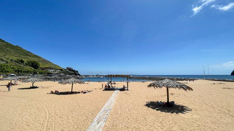 Qué ver en Madeira: playa de Machico