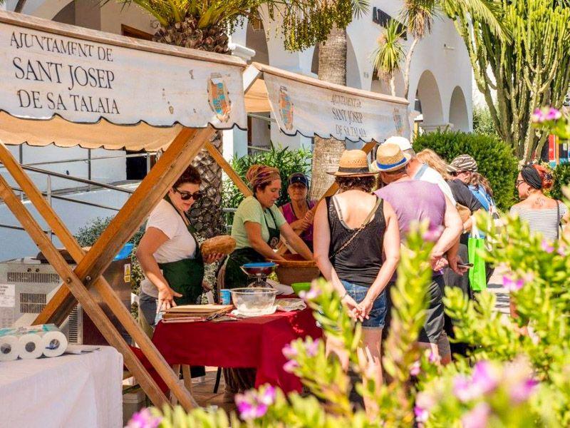 Mercadillos en Ibiza: Sant Josep