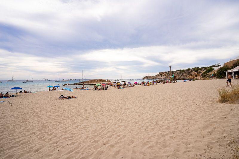 Las mejores playas y calas de Ibiza: Cala Tarida