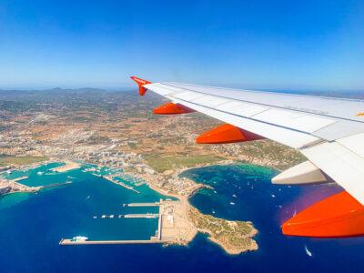 Cómo ir del aeropuerto de Ibiza a San Antonio
