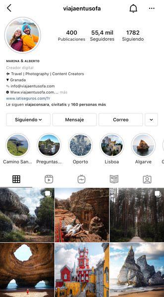 Las 10 mejores cuentas de Instagram de viajes: Viajaentusofa