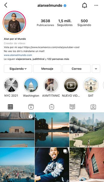 Las 10 mejores cuentas de Instagram de viajes: Alanxelmundo