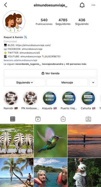 Las 10 mejores cuentas de Instagram de viajes: Elmundoesunviaje_